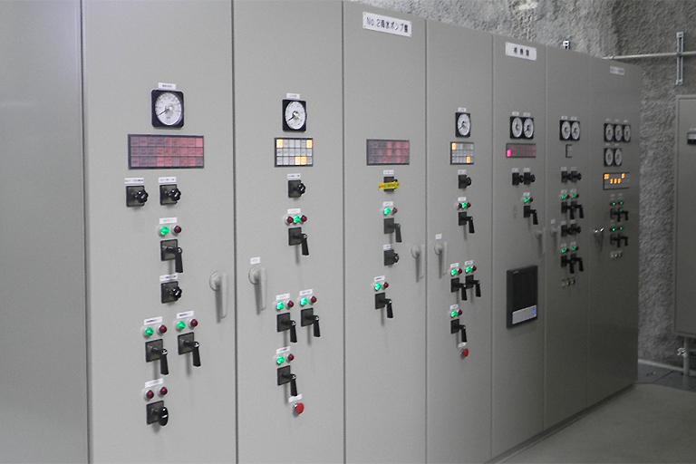 ポンプ場電気設備改築工事