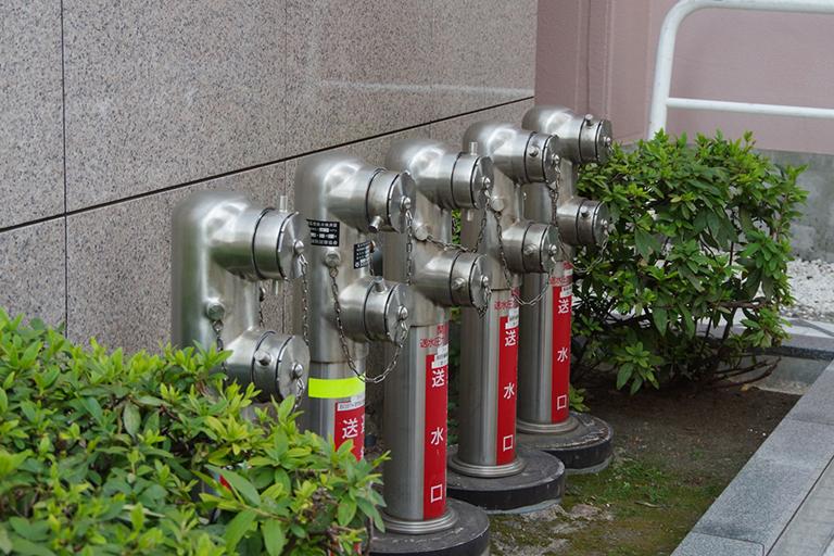 屋外消火栓設備工事