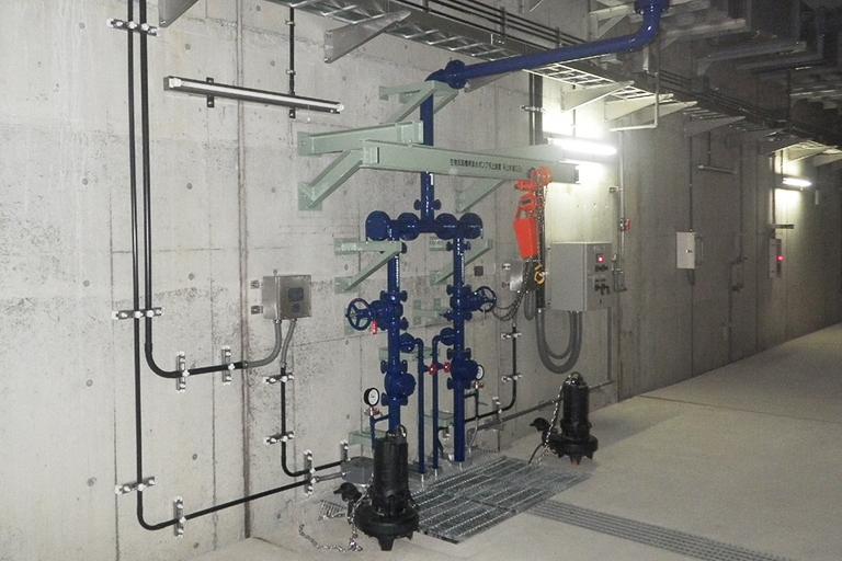 浄化センター電気設備工事