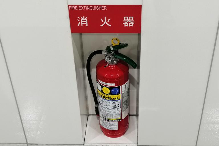 粉末消火設備設置